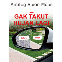 Kaca Film Antifog Mobil Kabut Rainproof JEPANG All Size UNIVERSAL