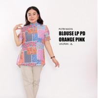 atasan big size/ blouse jumbo / baju atasan jumbo /blus big size tunik - S