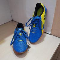 Sepatu Futsal Spotec Border Blue/Citron