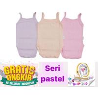 kazel tanktop jumper bayi girl singlet kaos bayi cewek - Seri Pastel 3pc, S