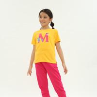 """M"" Zoo Yellow T-shirt"