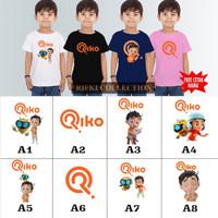 baju kaos anak laki-laki RIKO THE SERIES / BANYAK MOTIF ( FREE NAMA )