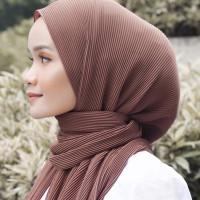 jilbab pasmina / pasmina plisket