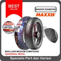Maxxis 100/80-14 MA3DN Ban Tubeless Motor Matic Matik MA 3DN