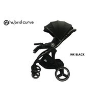 Hybrid Curve Stroller - All Black