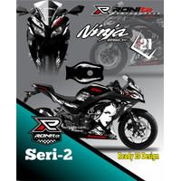 Decal Kawasaki NINJA 250 FI Full Body Paling Murah di RONIta Seri 2