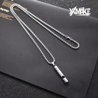 XXMAKE XXR110 Kalung pria Trendy Rantai Korean Style-COD - Silver