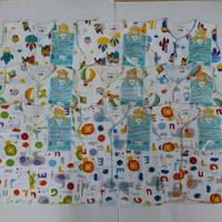 Libby Motif Baju Buntung / Atasan Baju Bayi NB (3-6Bulan)
