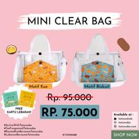 Mini Clear Bag + Pouch Masker / Angpao