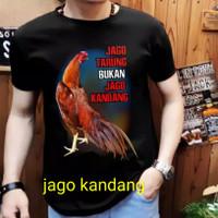 Kaos distro Ayam BKK bangkok / Atasan pria / T-shir - jgo kndang XL