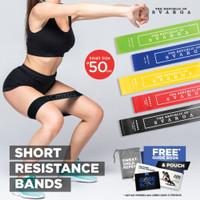 Short Resistance Band | Diameter 50cm | 100% Premium Latex