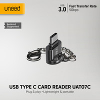 UNEED USB Type C Card Reader Micro SD - UAT07C