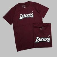 Baju Kaos Lakers Pria - L