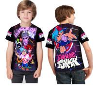 FRIDAY NIGHT FUNKIN Keren Boyfriend art 1 Baju Kaos Anak UNISEX Custom