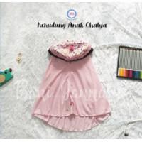 Krukid Chalya | Kerudung Anak Bani Batuta Cupcake | Jilbab Anak Motif - 3-4 tahun, BabyPink 83A