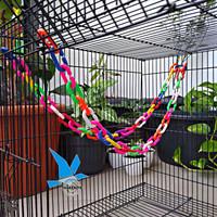 Rantai Plastik Gantungan Ayunan Mainan Burung Parrot Falk LB Parkit SG