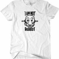 T-Shirt KSBC I am Not Robot ORIGINAL