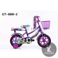 (Grab/Go Send) Sepeda Anak Mini CTB 12 Centrum CT 8806-2 Ban Mati Eva