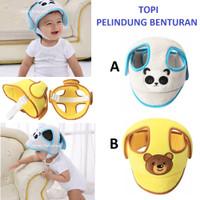 Topi Pelindung Benturan Anak Bayi Pengaman Kepala Kado Lahiran Hadiah - A.