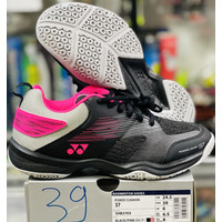 Sepatu Badminton Yonex SHB 37 EX / Power Cushion 37 EX Black/Pink