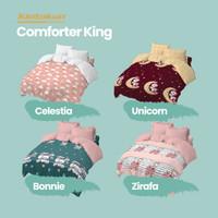 Kintakun Comforter 180 King Dluxe Kids Edition Microtex