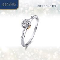 Adelle Jewellery – Petite Eiffel Ring – Cincin Emas Berlian