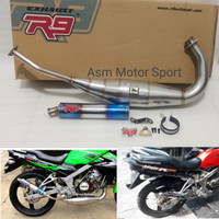 R9 Mugello Ninja 150 R / RR Knalpot Racing R9 Asli Original 100%