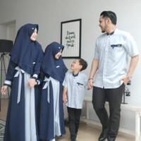 Gamis Couple Family Cemara/Pakaian Muslim Set