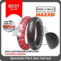 Maxxis 90/80-17 MA-G1 Green Devil Gi Ban Tubeless Ring 17