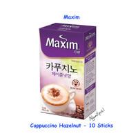 Maxim Coffee Cappuccino Hazelnut - Dongsuh Korea