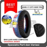Michelin 80/80-17 City Grip Pro Ban Motor Bebek Tubeless