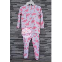 Baju Tidur Piyama Anak Perempuan Carters Set 9 Bulan Dinosaurus