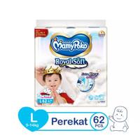 MamyPoko Tape Royal Soft L 62 - pospak popok diaper