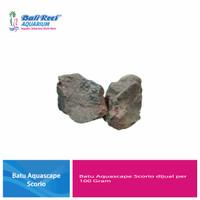 Batu Aquascape Scorio Per 100 Gram