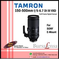 Tamron 150-500mm f/5-6.7 Di III VXD Lens for Sony E-Mount Full-Frame