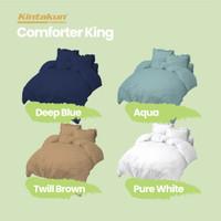 Kintakun Comforter 180 King Dluxe Embossed Edition Microtex