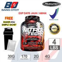 NITRO TECH RIPPED 4 LBS MUSCLETECH NITROTECH RIPPED 4 LBS Whey Protein