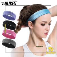 Sweatband Aolikes A-2103 Headband Bando Handuk Kepala Olahraga