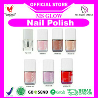 MS Glow Nail Polish Kutek Halal Msglow