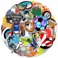50pcs Stiker olahraga mix sports sticker NBA MMA NFL motor tennis etc