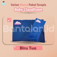 Perlengkapan Baby Paket Bantal Baby Cloudfoam Resmi - Biru