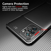 Redmi Note 10 / 10s - Casing Case Softcase Autofocus Carbon Beetle Ori