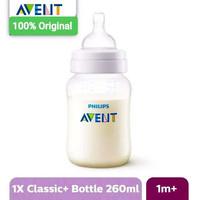 Avent Bottle Classic Plus Reduce Colic Single Pack - 125ml / 260 ml