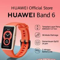 huawei band 6 resmi best seller smartband - orange
