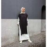 Outer Katun Wanita - Shanum Vest By Adjeekahijab