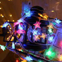 Lampu Tumbler Rainbow Warna Warni Bintang Led CD-009 Lampu Hias Natal