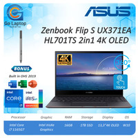 Asus Zenbook Flip S UX371EA HL701TS 2in1 i7 1165G7 16GB 1TB SSD 13.3