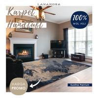Karpet Handtuft Premium Wool Mewah Modern 073 200x300 cm