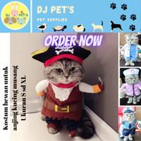 baju anjing dan baju kucing kostum hewan PET3061