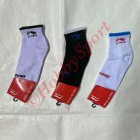 Kaos Kaki Pendek Lining A Olahraga Lari Bulu Tangkis Badminton Kaus Ok